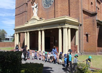 2017 Year in Review: St Nick's Newcastle West visits Sacred Heart Cathedral IMAGE