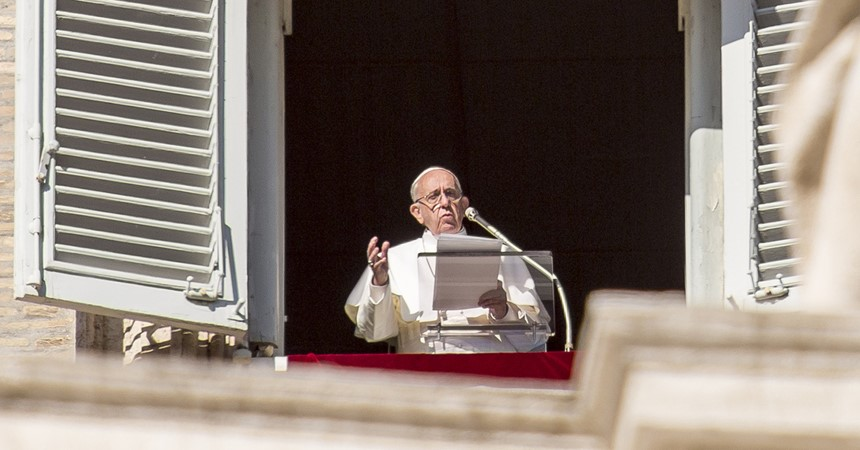 Pope Francis' 'state-of-the-world' speech IMAGE