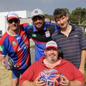 GALLERY: Newcastle Knights visit CatholicCare Disability Services Image