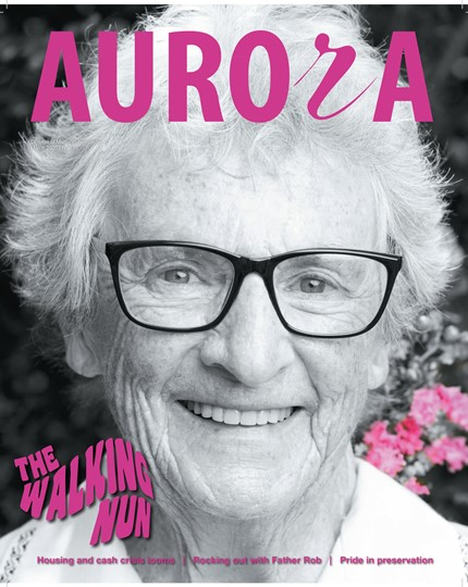 Aurora Magazine March 2020 Cover