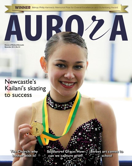 Aurora Magazine November 2014 Cover