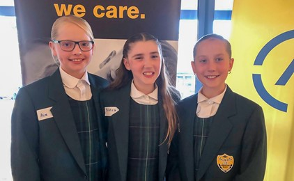 Image:Holy Family innovators win top award
