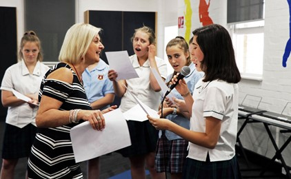 GALLERY: Students embrace the joy of singing  Image