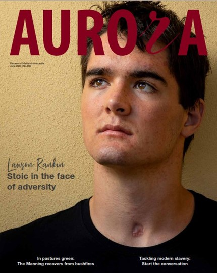 Aurora Magazine June 2020 Cover