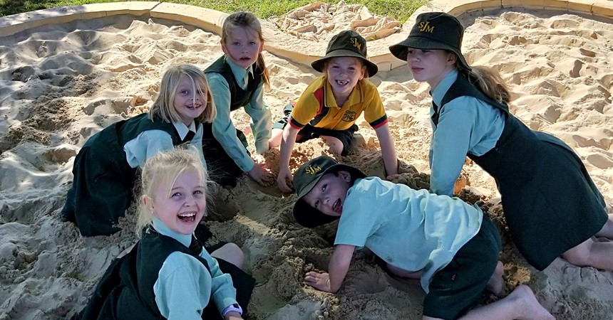 St Joseph's Merriwa Working Bee proves a huge success IMAGE