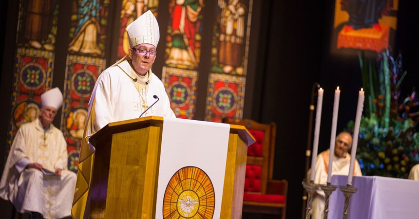 One of Newcastle's own ordained as the new Bishop of Wollongong  IMAGE