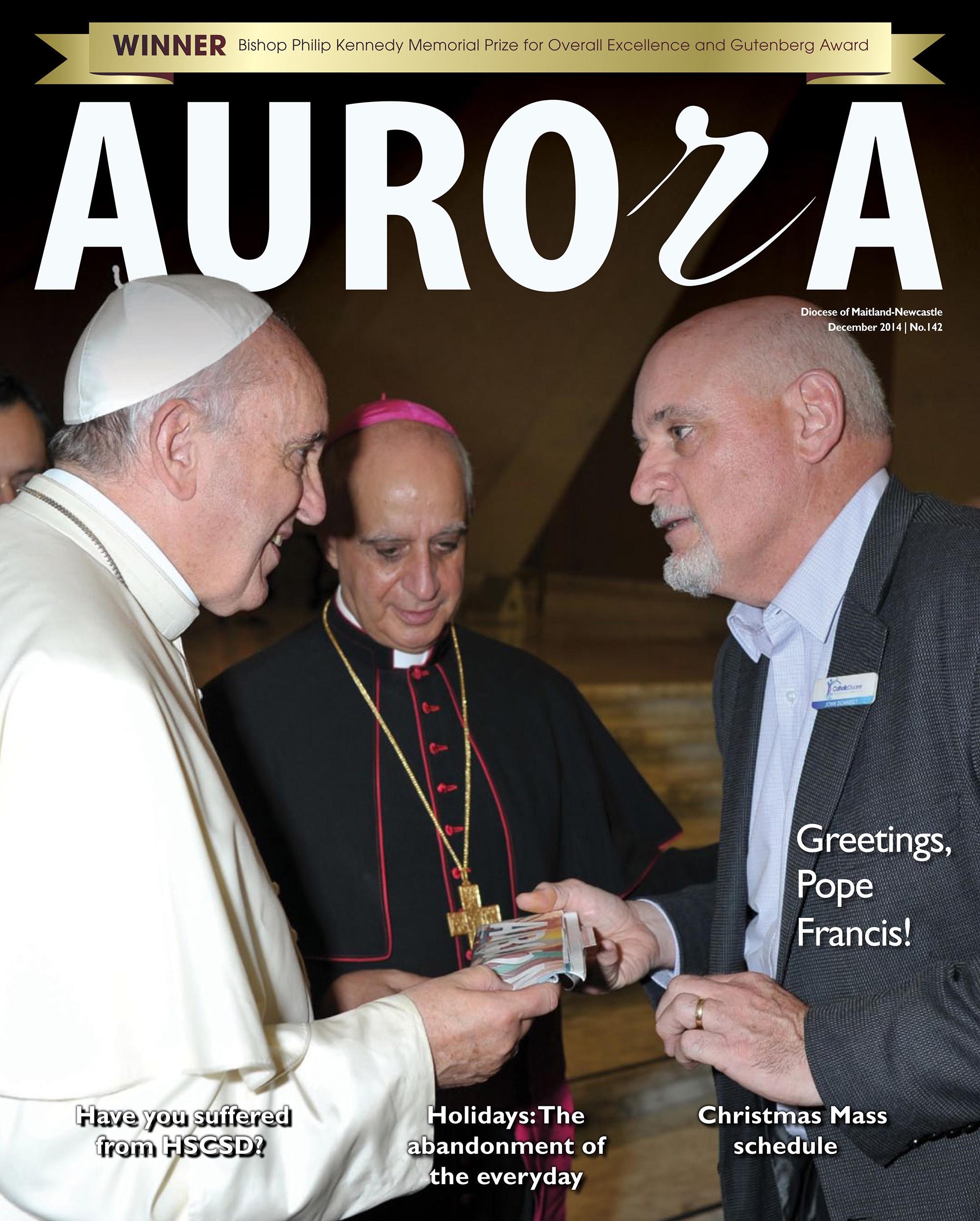 Aurora December 2014 Cover Image