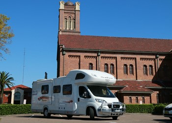 GLOBAL PULSE Letter from Rome: Motorhome Missionary of Mercy IMAGE