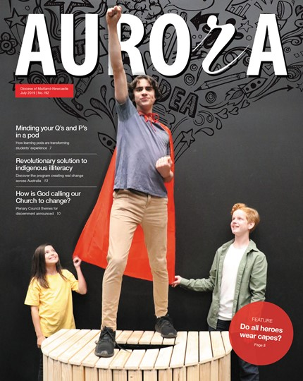 Aurora Magazine July 2019 Cover
