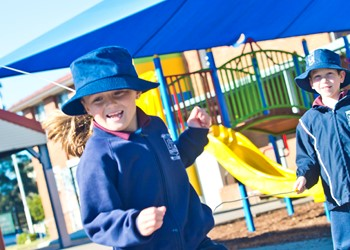 New playground for Stockton courtesy of St Peter's students IMAGE