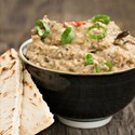 A Syrian staple — baba ghanoush Image