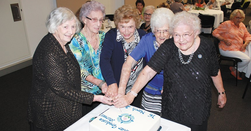 Mater Graduate Nurses gather for 70th reunion IMAGE