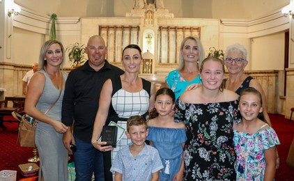 Renee Wilcher receives Emmaus Award for First Five Years of Teaching  Image