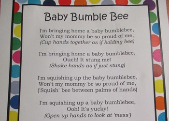 Toons toddlers delight in nursery rhyme IMAGE