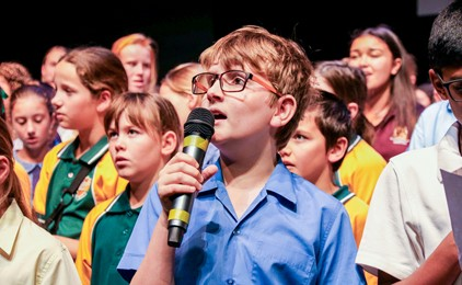 Image:Primary Choirfest at St Pius X Adamstown