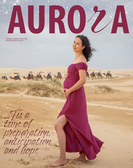 Aurora Magazine December 2020 Cover