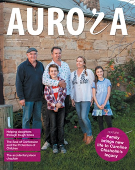 Aurora Magazine August 2018 Cover