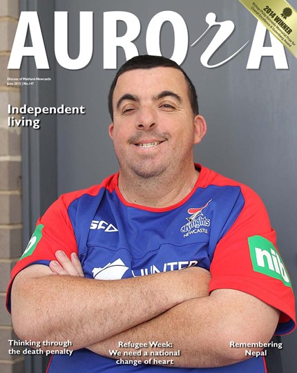 Aurora Magazine June 2015 Cover
