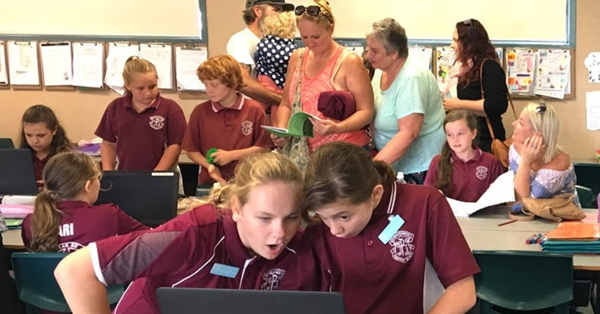 St Paul's celebrates Catholic Schools Week  IMAGE