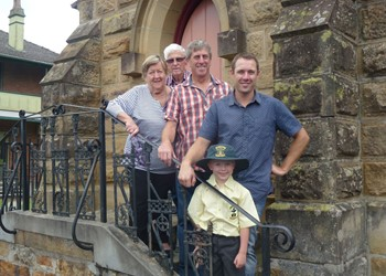 Five Generations at St Brigid's IMAGE