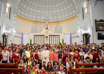 Simbang Gabi at Sacred Heart Cathedral IMAGE