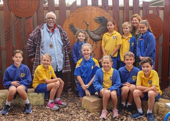 St Joseph's Merewether open and bless new Aboriginal sacred space IMAGE