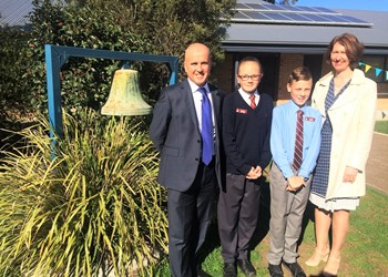 St James' showcases NAPLAN achievement  IMAGE