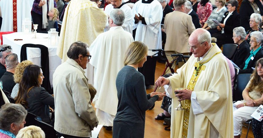 Centenary celebrations at St Columban's Mayfield IMAGE