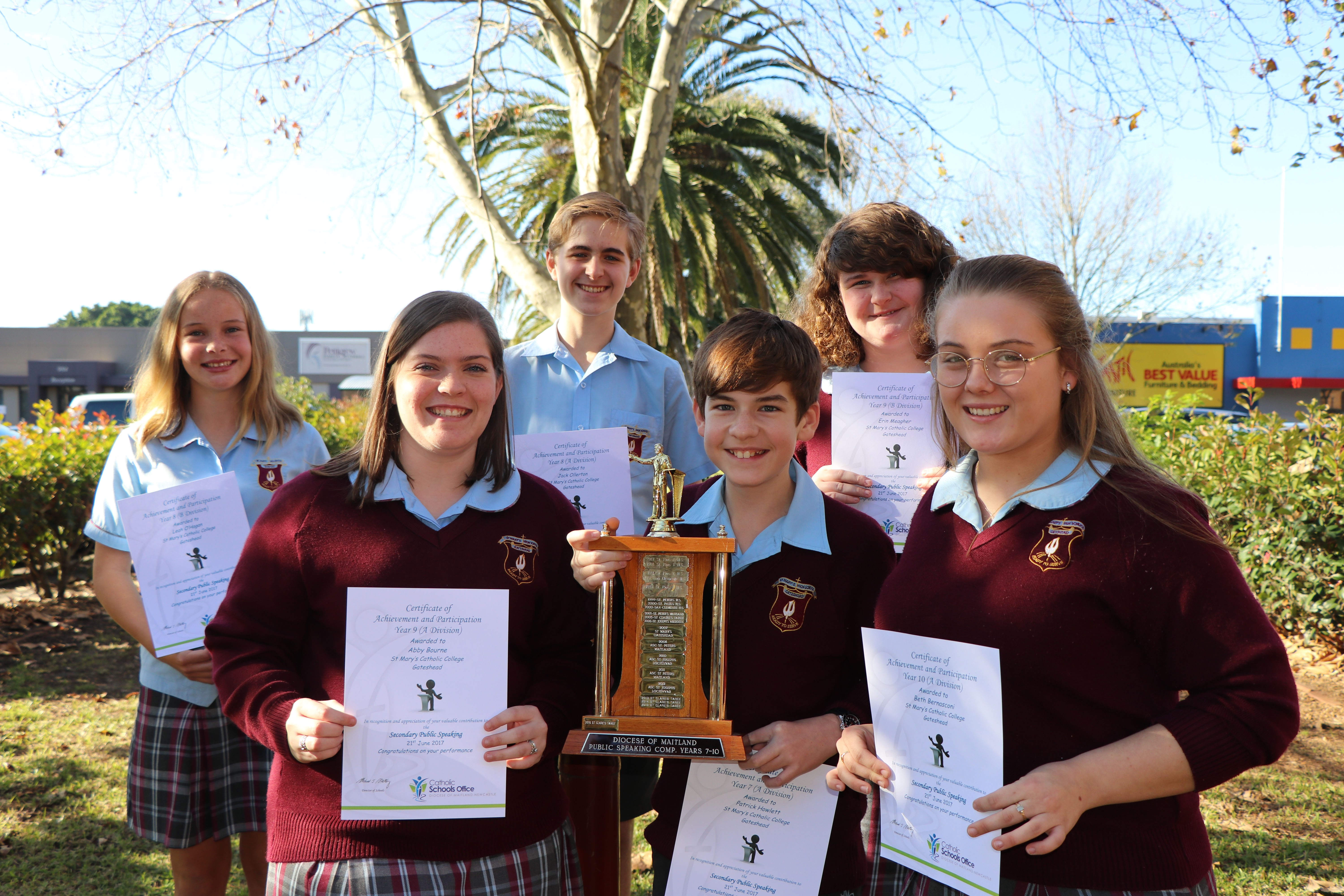 Diocesan Secondary Public Speaking 2017  Image