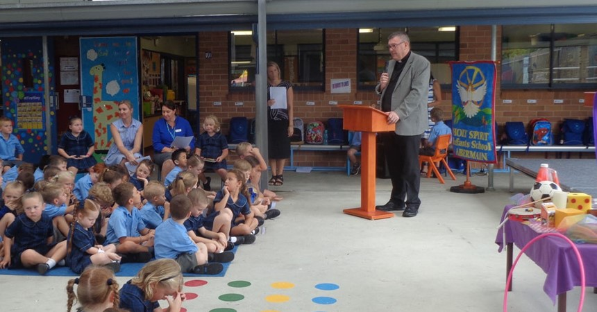 Holy Spirit Infants celebrates Catholic Schools Week  IMAGE