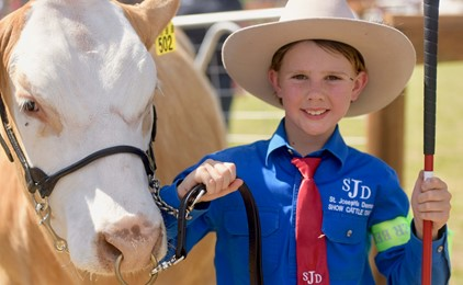 Image:St Joseph's Denman does it again at the Beef Bonanza