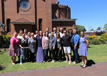Youth Ministry Co-ordinators meet in Newcastle IMAGE