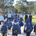 Walk Safely to School Day Image