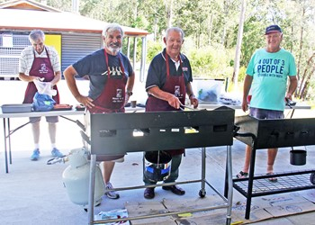 Barbecue tradition continues to raise funds IMAGE