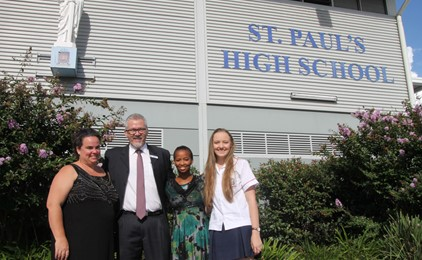 St Paul's hosts special guests from St Jude's  IMAGE