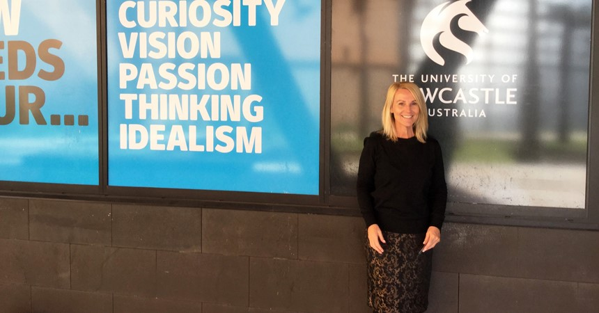 Kim Moroney appointed Conjoint Fellow at the University of Newcastle IMAGE