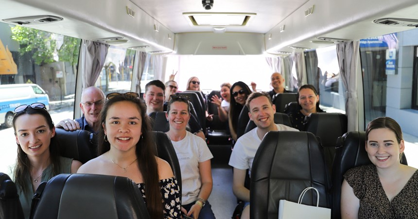 Maitland-Newcastle heads to ACYF: Day 7 (Perth - St John of God Retreat Centre) IMAGE
