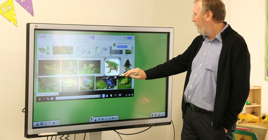 VIDEO, GALLERY: Interactive smartboard for Newcastle West pre-schoolers IMAGE