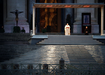 LITURGY MATTERS: Pope Francis COVID-19 Blessing IMAGE