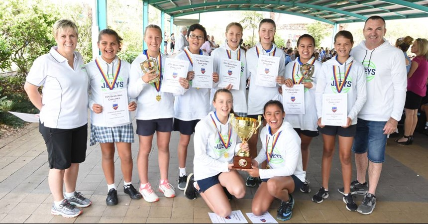 Victory a slam dunk for students of St Joseph's Taree IMAGE