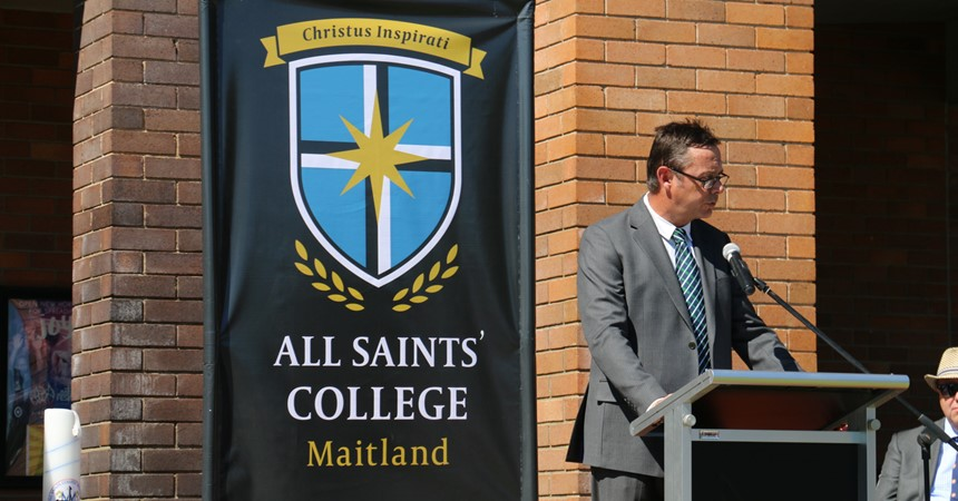 All Saints' College launches new visual identity IMAGE