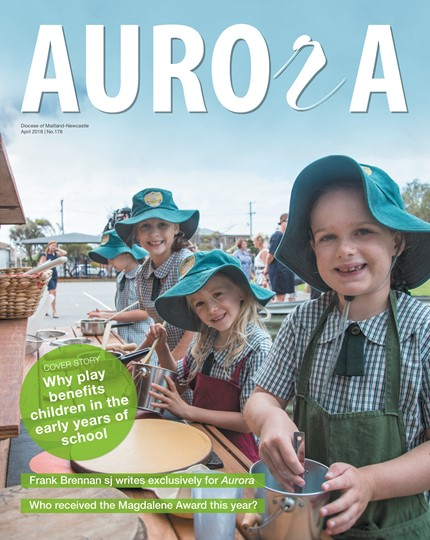 Aurora Magazine April 2018 Cover