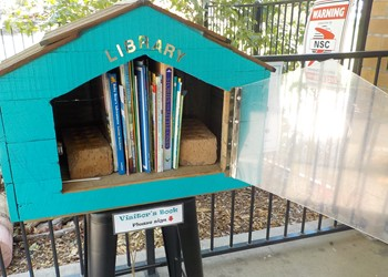 "Singleton St Nick's opens ""Street Library"" IMAGE"