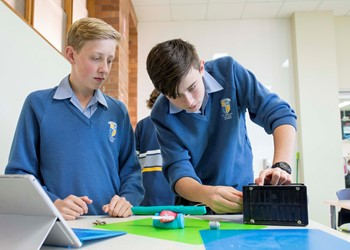 St Joseph's Lochinvar compete in Science and Engineering Challenge  IMAGE