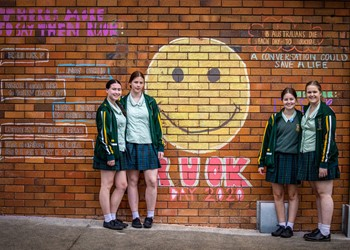 Schools sweet in recognising R U OK? Day  IMAGE