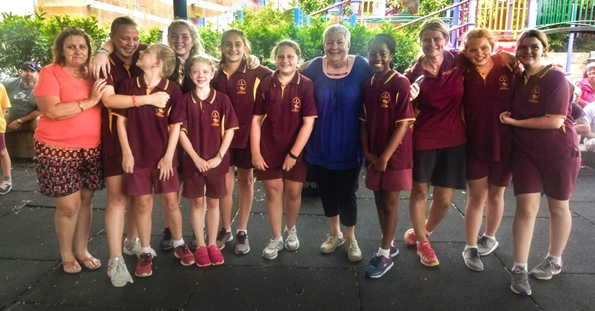Year 6 farewell at St Francis Xavier's Belmont IMAGE