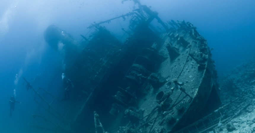 Ship wrecks and close calls with cannibals IMAGE