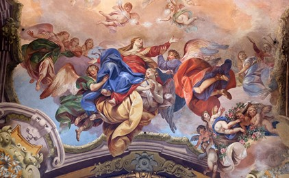 The Feast of the Assumption - Mary overflowing with joy IMAGE