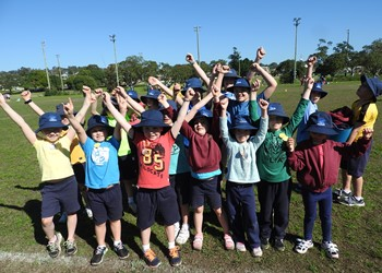 Mini Olympics at St John's Lambton IMAGE