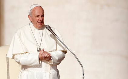 Image:Fratelli Tutti: Pope Francis delivers new teaching